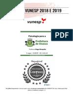Dossiê de provas VUNESP 2018 e 2019 Grátis.pdf