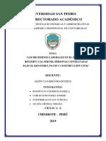 Informe Semi Terminado Regimenes