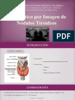 Diagnotico Por Imagenes de Nodulos Tiroideos