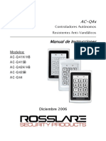 AC-Q4x Family Manual 311206 - Spanish