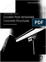 TR 72 Durable Post Tensioned Concrete Bridge
