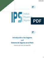 Curso Introducción a Los Seguros y El Sistema de Seguros en El Perú