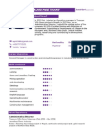 JOB NET CV SAMPLE