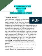 [Amaleaks.blogspot.com] Oral Communication Grade 11 Week 11-20