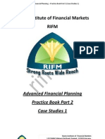 Advance Financial Planning Pracrice Book Part 2 Case Studies 1