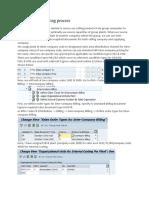 Inter-company Billing Process