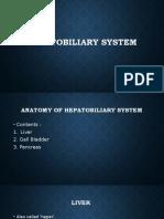 Hepatobiliary Syestem