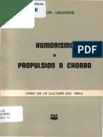Humorismo y Propulsión a Chorro - Héctor Velarde
