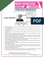 Biografía de Cesar Vallejo Mendoza Para Cuarto de Secundaria