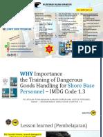 Why Training IMDG Code for Based Perrsonnel Importance
