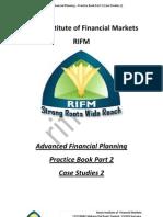 Advance Financial Planning Practice Book Part 2 Case Studies 2