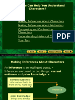 Unit 2 Characterization Inferences