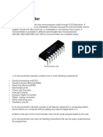 Basics of PIN Microcontroller