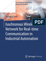 (Technologien Für Die Intelligente Automation) Henning Trsek (Auth.) - Isochronous Wireless Network for Real-time Communication in Industrial Automation-Springer Vieweg (2016)