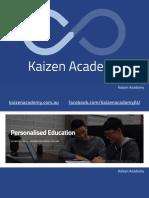 HSC Mathematics Probability Guide by Kaizen Academy