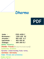 Dharma and Sources