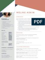 Melike Askin CV