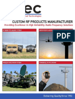 RF Products Solutions Overview
