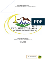 Juklak Pw Cabang Kota Langsa 2019