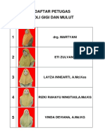Daftar Petugas Poli