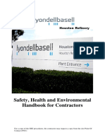 Contractor Safety Handbook Hro