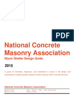 Concrete Masonry Storm Shelter Design Guide
