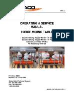 90-90-641 (Rev -) HiRIDE Mixing Table