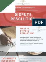 Dispute Resolution - Sai Krishna Associates
