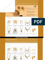 PHP and MySQL Project on Online Jwellery Store Screens