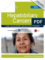 Hepatobiliary Cancers