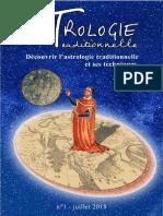 Astrologie Traditionnelle revue n°1 - juillet2018