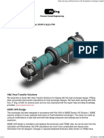 Heat Exchanger – Pressure Vessel Engineering