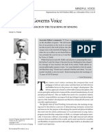 How Mind Governs Voice