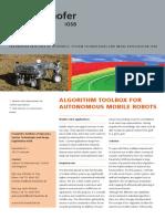 Product Information Sheet - Algorithm Toolbox