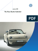 Volkswagen New Beetle Cabriolet - Self-study Programme 281