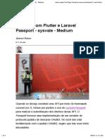 OAuth 2 Com Flutter e Laravel Passport - Sysvale - Medium