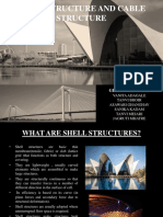 Shell Structures and Cable Structures