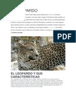 EL LEOPARDO - Características