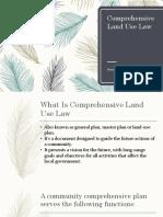 Comprehensive Land Use Law