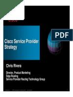 ChrisRivera-Cisco Service Provider Stategy