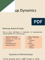 Chapter-VI(Group Dynamics & Motivation) - Copy.pptx