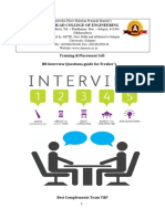 HR Interview Questions for Freshers With Best Answers and Examples