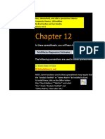 CF 10e Chapter 12 Excel Master Student