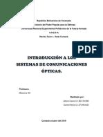 Trabajo Introducción a Los Sistemas de Comunicaciones Ópticas