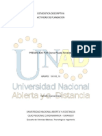 ESTADISTICA DESCRIPTIVA PLANEACION