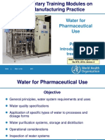 Water fo pharma use.ppt