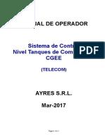 ManOperac PLC Sist Combustible Telecom