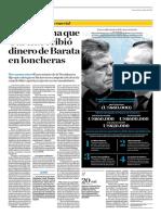 Nava Afirma Que García Recibió Dinero de Barata en Loncheras