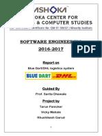 Blue Dart Project Final