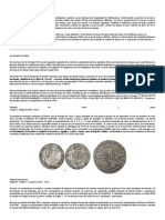 Historia de Las Monedas de Mexico